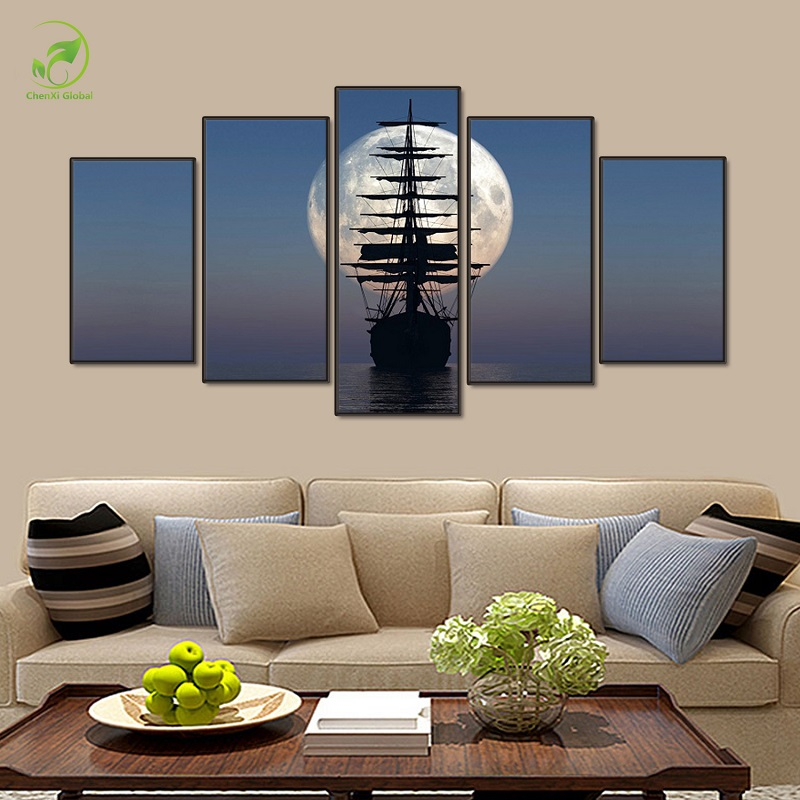 Sailboat Wall Art online get cheap sailboat art -aliexpress | alibaba group