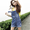 Short Jeans Promotion New Straight Button Hole In The Summer Of Tide Product Small Pure And Fresh For Overalls Shorts G38