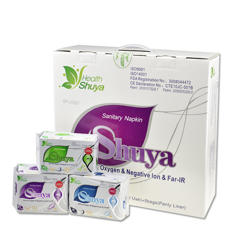 19pack lot love anion sanitary pads menstrual pads feminine hygiene product women sanitary napkins for women