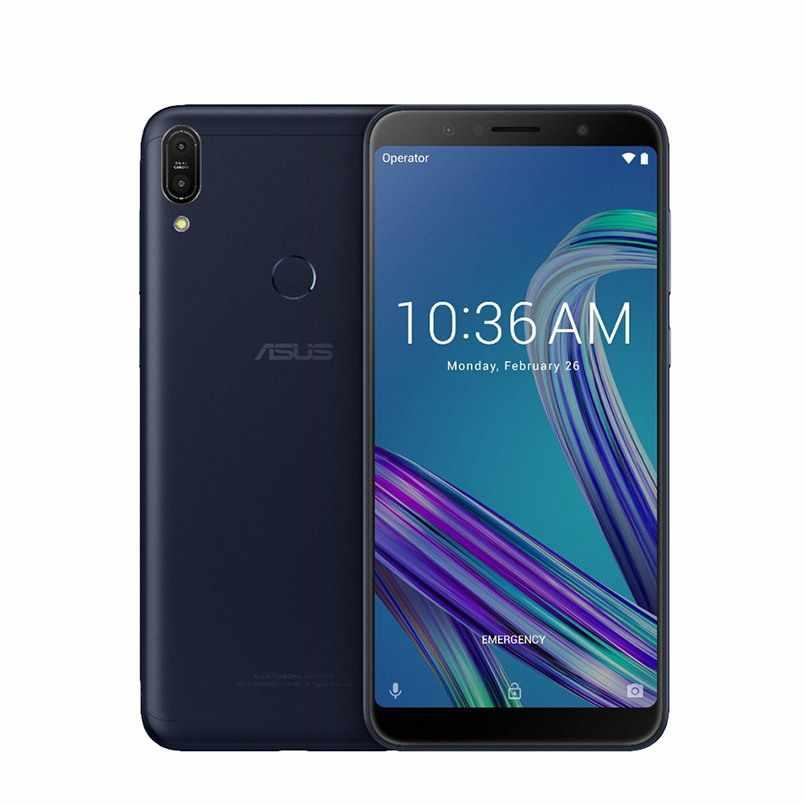 Versão global asus zenfone max pro m1 zb602kl smartphone 6 polegada 4 gb 128 gb snapdragon 636 5000 mah bateria grande lte celular