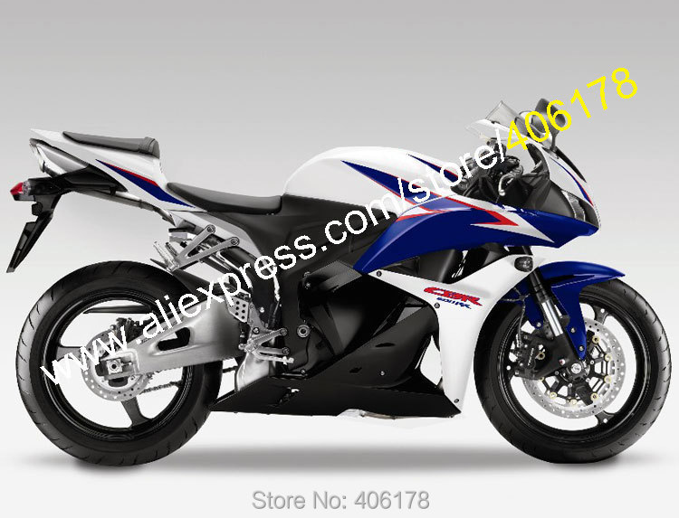 Hot Sales,For Honda CBR600RR F5 2009 2010 2011 2012 CBR 600 RR 09 10 11 12 Blue White Black ABS Fairing Kit (Injection molding) hot sales for honda cbr600rr 2003 2004 cbr 600rr 03 04 f5 cbr 600 rr blue black motorcycle cowl fairing kit injection molding