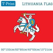 Государственный флаг Литвы литовский флаг Ensign 3X5ft полиэстер баннер летающие 150*90 см, уличный флаг на заказ
