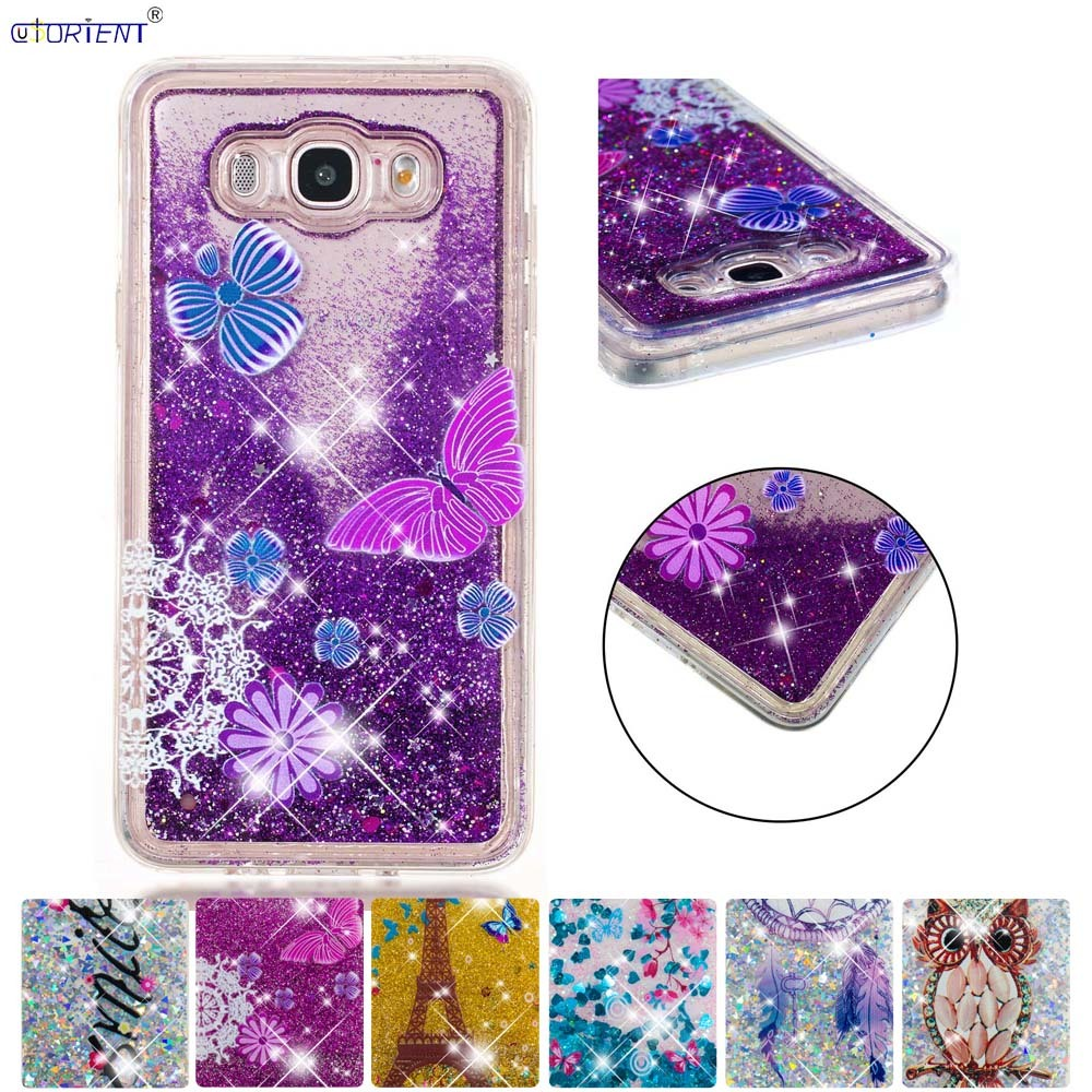 Half-wrapped Case Hospitable Fitted Case For Samsung Galaxy J7 2016 J76 Glitter Stars Dynamic Liquid Quicksand Silicone Tpu Phone Cover Sm-j710f Sm-j710fn/ds 50% OFF