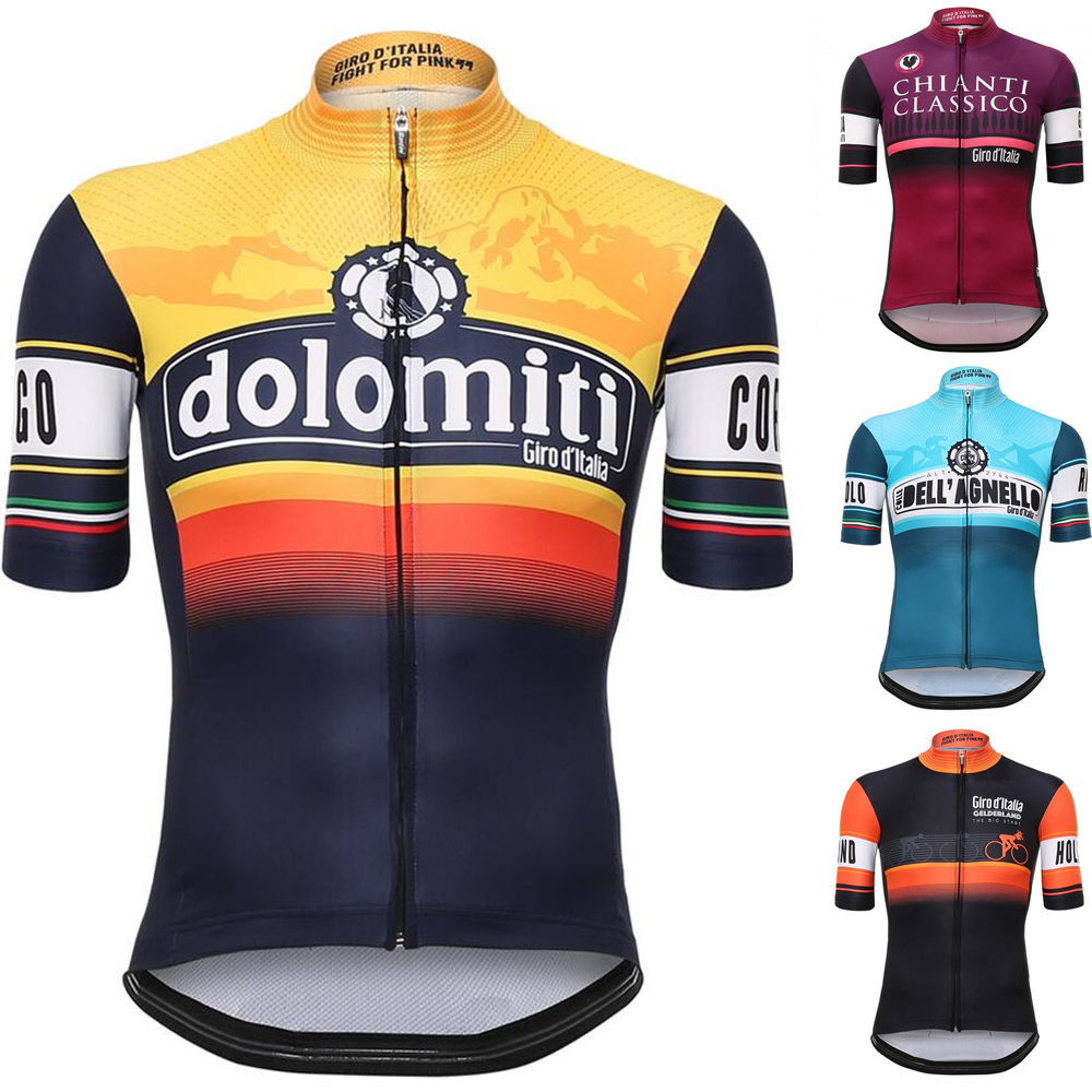 Tour De Italy D'ITALIA Cycling Jersey short sleeve cycling shirt Bike bicycle jerseys clothes Clothing Ropa Ciclismo Breathable new italy pro team cycling jerseys 2018 short sleeve summer breathable cycling clothing mtb bike jerseys ropa ciclismo