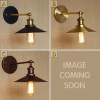 Wall Lamps Light Luminaire Lampe Simple Industrial Villas Black Dresses Decorative Wall Lamps