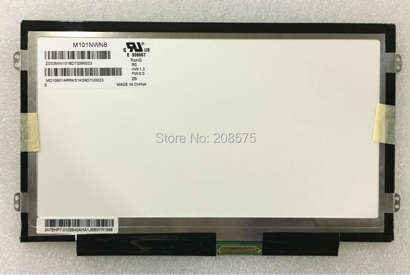 Free shipping M101NWN8 R0 B101XTN01 .1 N101BGE-L31 HSD101PHW1 LCD Screen Display Slim Panel WXGA HD 1366X768 LVDS 40PINS lp101wh1 tla3 fit ltn101at03 lp101wh1 tlb1 lp101wh1 tla2 n101bge l21 1366x768