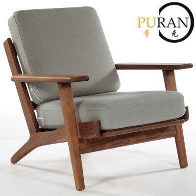 Hans hans wegner plank arm stoel leisure stoel fauteuil for Fauteuil eetkamerstoelen
