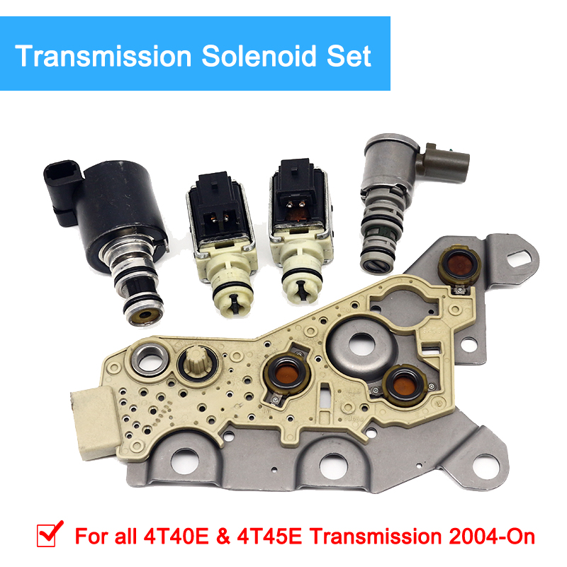 Solenoid valve Kit 4T40E 4T45E Transmission Solenoid Set Fits For GM 2004 ON 99174 in Automatic Transmission Parts from Automobiles Motorcycles