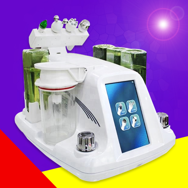 Hydra Dermabrasion RF Bio-lifting Spa Facial Machine / Aqua Facial Cleaningl Machine /water Peeling Dermabrasion