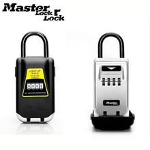 Zamek główny klucz zewnętrzny sejf przechowywanie kluczy pudełko kłódka użyj zapalonych tarcz blokada hasła klucze Hook Security Organizer Boxes