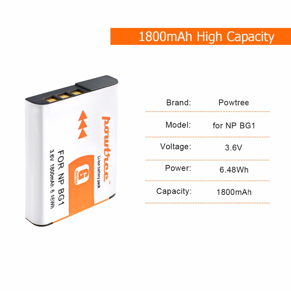 3X NP BG1 FG1 NP BG1 Battery LCD USB Charger for SONY Cyber shot DSC H3 DSC H7 DSC H9 DSC H10 DSC H20 DSC H55 DSC H70 Camera L20 in Battery Packs from Consumer Electronics