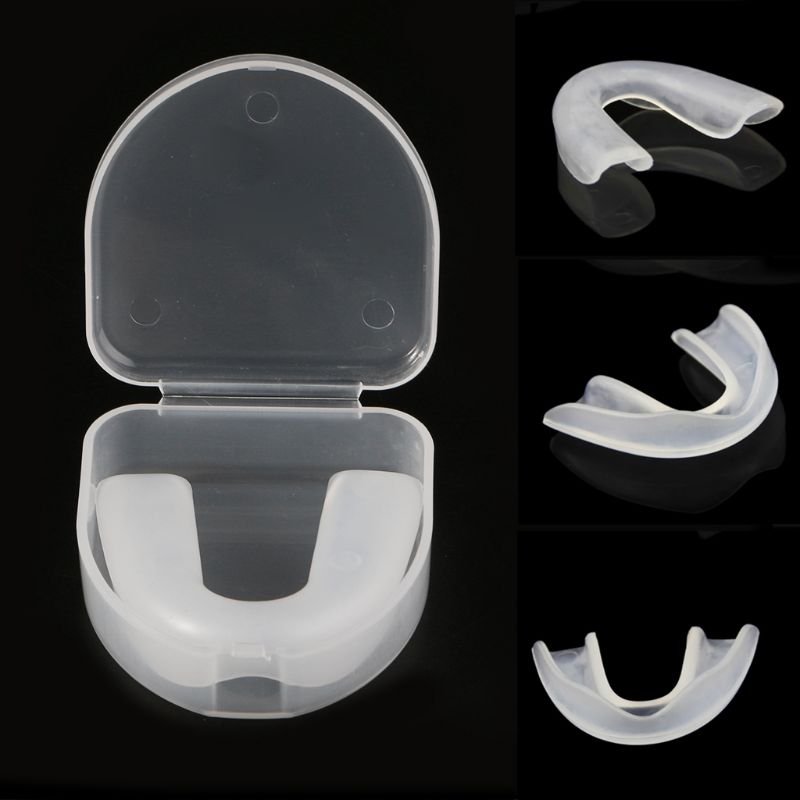 Adult Mouthguard Mouth Protective Guard Grinding Sports Boxing Teeth Protector
