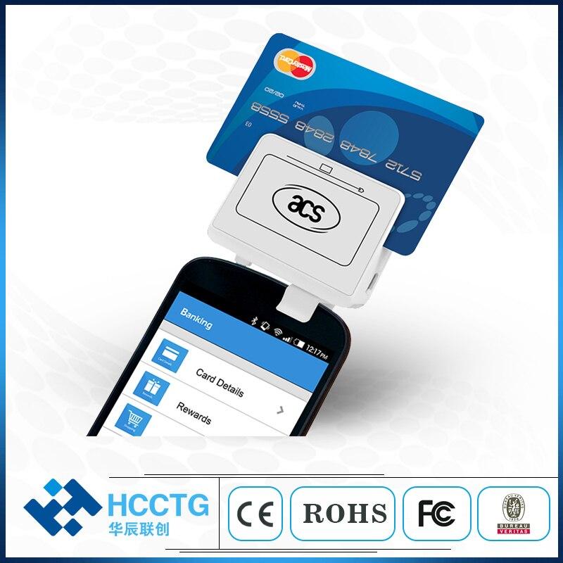 Lecteur de carte de crédit à puce 3.5mm prise audio andio-jack 13.56 mhz-ACR32