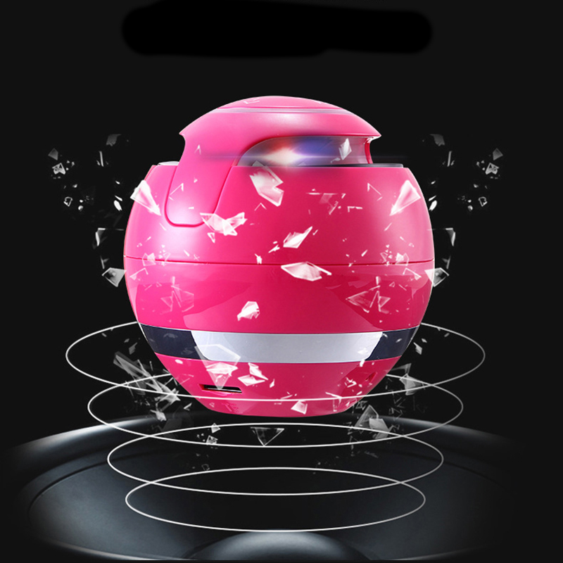Wireless Mini Bluetooth Speaker Portable Colorful Lamp With Mic TF Card Hands-Free Subwoofer Boombox Sound Box