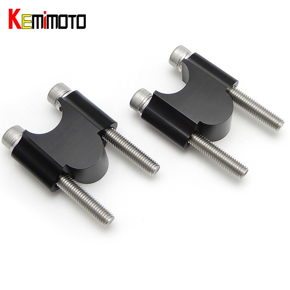 "KEMiMOTO 7/8 ""22mm For Can am OUTLANDER For Honda TRX450 MT07 Z900 ATV Handlebar Clmap Բռնակով բարձիկներ"