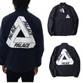 Palace Jacket Men Women High Quality 3M Reflective Classic Triangle Windbreaker Palace Skateboards Jackets Causal Palace Jacket