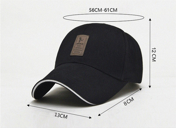 Men's Adjustable Baseball Cap Casual Leisure Hats Fashion Boy Snapback Hat Caps