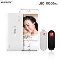100 Original Pisen Portable 10000mAh Powerbank 2A Universal USB External Battery Charging For IPhone 5s 6s