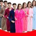 2017 удлиняется Спальный халат женский фланель зима пижамы толще разделе коралловых кашемировые халаты