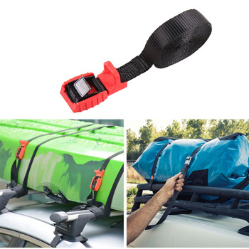 4.5M Surfboard Kayak Roof Rack Tie Down Straps Universal Luggages Lash Securing Strap  with Metal Cam Buckle 500KG  1