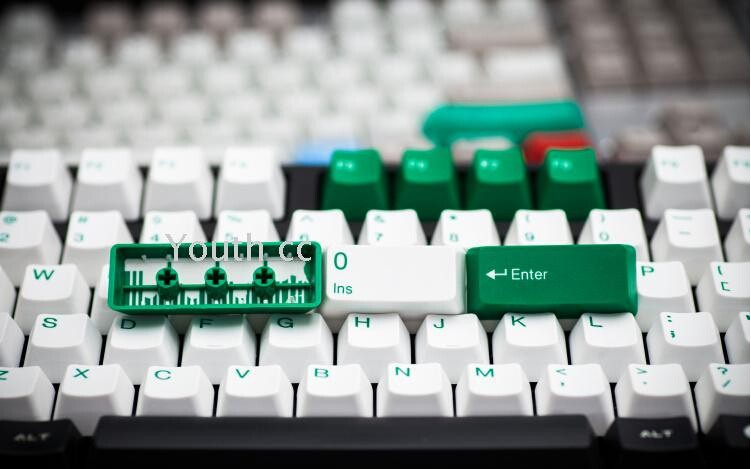 Mechanical keycap retro <font><b>keycaps</b></font> <font><b>104</b></font> <font><b>keycaps</b></font> Taihao double shot ABS Granite Dolch keycap OEM image