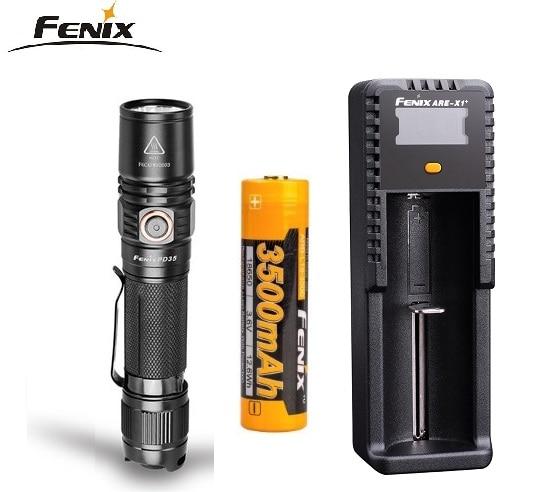 2018 Upgrade Fenix PD35 V2 0 Cree XP L HI V3 LED 1000 Lumen Flashlight