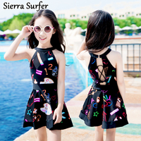 Bathing Suit Girls Children S Swimwear Junior Swimsuit Suits 2018 Children Swim Lovely Princess Skirt Baby
