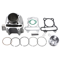57 4mm Bore Cylinder Rebuit Kit For GY6 150cc ATV Go Kart Mope