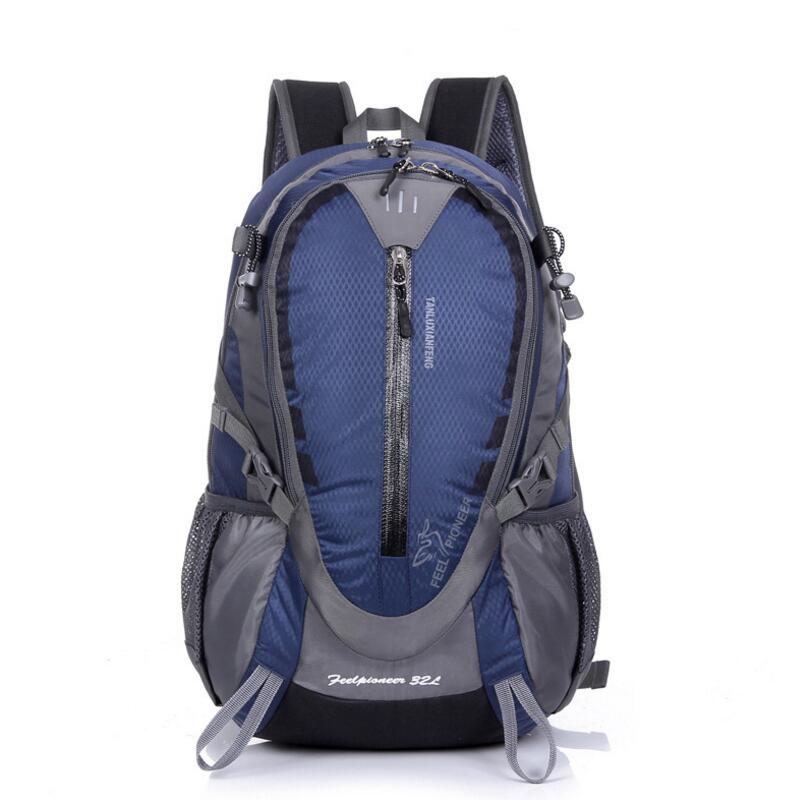 Outdoor Bag 32L Rucksack Men Women Ultralight Backpack Travel Cycling Trekking Backpack Waterproof Sports Hiking Camping Bag