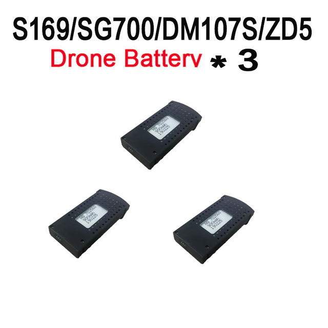 Drone Spare parts motor battery S169/SG700/DM107S/ZD5 protect frame propeller gear Accessory Foldable Wifi FPV RC Quadcopter