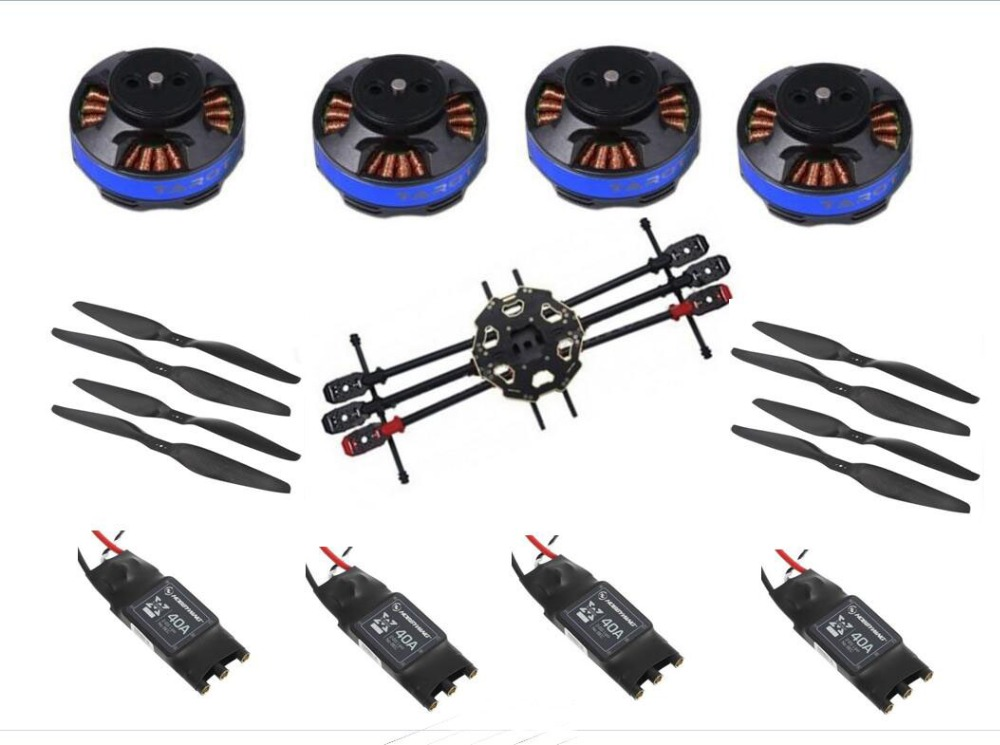Tarot 680 Pro ARTF Hexacopter TL68P00 w Tarot 4006 620KV Motor Hobbywing ESC FPV Multi Rotor