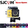 """100% Original Sjcam SJ4000 2 """"12MP 30 M Subaquática À Prova D' Água Esportes Ao Ar Livre Mini Câmera Ação Sj 4000 Cam DVR"""