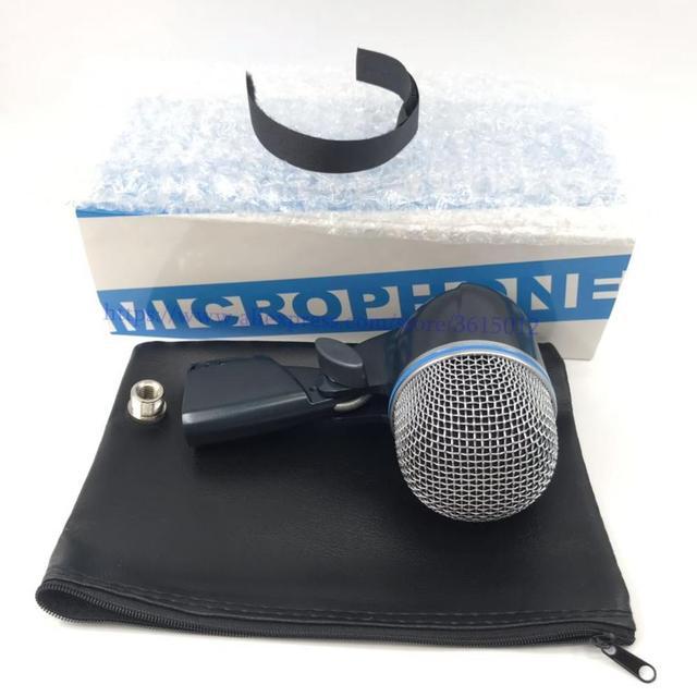 Microfone com tambor beta52 beta52a, 1 conjunto com estilo de baixo, microfone com BETA 52A kick, beta52, beta91, beta91a, 52, beta56a, beta91, beta91a estilo de baixo microfone