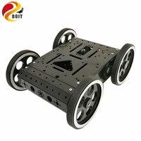 DOIT C3 4WD Smart Robot Car With High Hardess Of Steel 4pcs DC 12V Motor 95mm