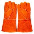 Промышленности, труда, анти-вырезать перчатки анти-Статические сварочные кожаные перчатки рабочие защиты дышащий безопасности перчатки с подогревом