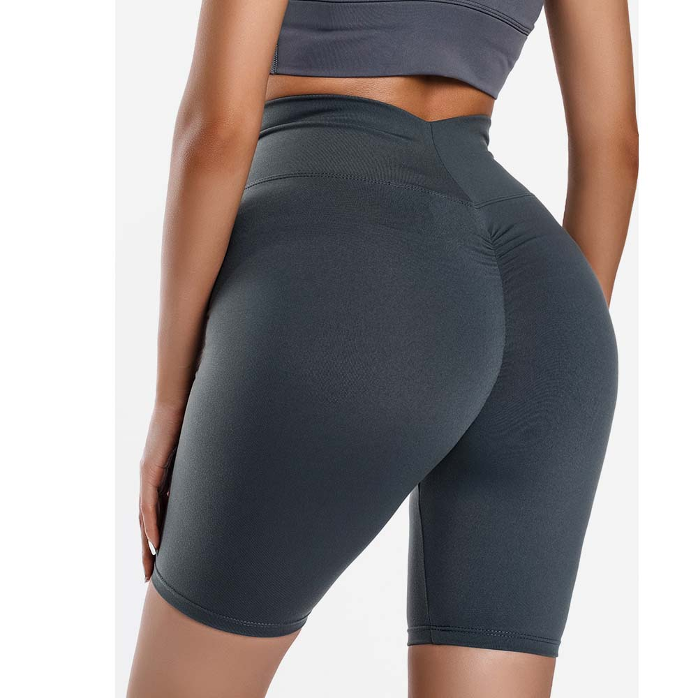 Women Push Up Hip Fitness Shorts High Waist Sports Quick Dry Athletic Skinny Yoga Shorts Outdoors Running Workout Riding Shorts