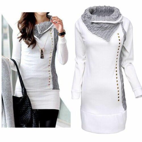 2019 New Hot Sale Latest Summer Fashion Women Long Sleeve Hoodie Sweatshirt Jumper Sweater Pullover Top Winter