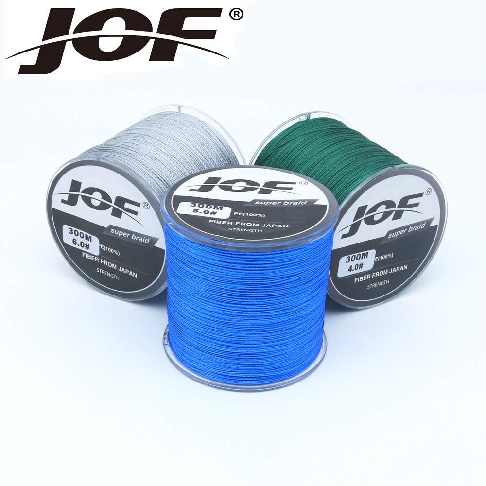 купить The 300m 4 stands Fishing Line 10-100LB To Choice Power PE Braided Fishing Wire multifilament line fishing Rope Cord Carp по цене 339.31 рублей