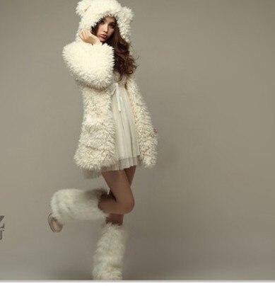 Patron abrigo con capucha