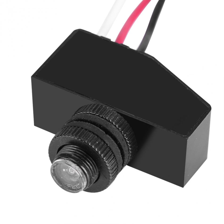 Mini 12V Remote Photocell Dusk To Till Dawn Automatic Light Lamp Switch
