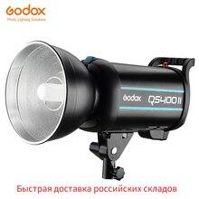 Godox QSII سلسلة QS400II 400Ws ستروب فلاش النمذجة الخفيفة ، 5600K درجة حرارة اللون