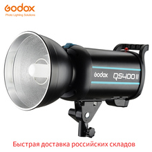 Godox QSII Series QS400II 400Ws Strobe Flash Modeling Light,5600 K อุณหภูมิสี