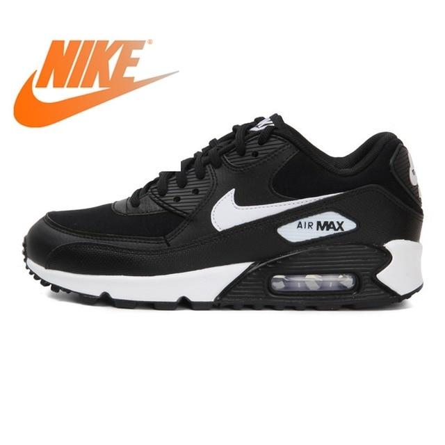 Original 2018 NIKE WMNS AIR MAX 90 Women's Running Shoes Sneakers Breathable Cushioning Nike Shoes Women Outdoor Walking 325213