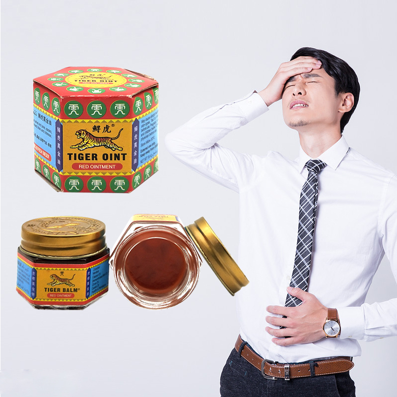 Super Promotion100% Natural Original Red Tiger Balm Thailand Painkiller Ointment Muscle Pain Relief Massage Ointment Soothe Itch