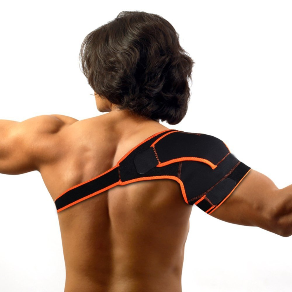 Medical Shoulder Support Brace Wrap Belt Health Care Shoulder Band Arthritis Pain Relief ...