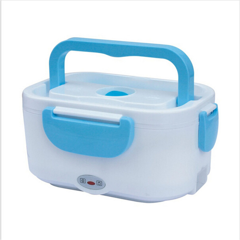 Portable Electric Heating Lunch Box Insulation Launch Box Meal Heater with EU/US Plug Lunchbox Food Warmer Car Truck Stove Oven
