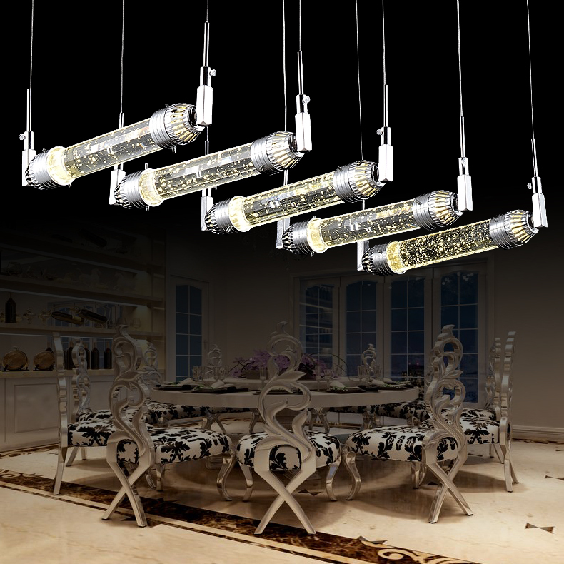 Can You Visit Industrial Light And Magic: Dining Room Magic Bubble Crystal Light Fixtures Lustres De