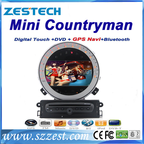 zestech double din radio tv dvd gps navigation for mini. Black Bedroom Furniture Sets. Home Design Ideas