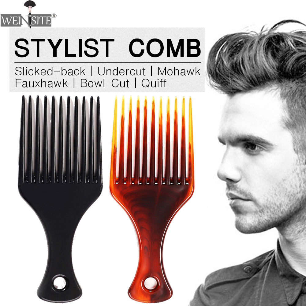 Men's Slicked-back Hair Comb ​Hair Care Styling Shaving Brush Beard Comb Tooth Classic Oil Slick Hair Comb Styling Tools