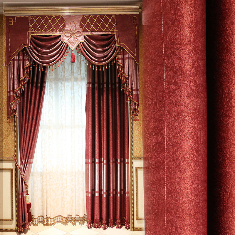 Buy modern style valance curtains cortina for Cortina screen